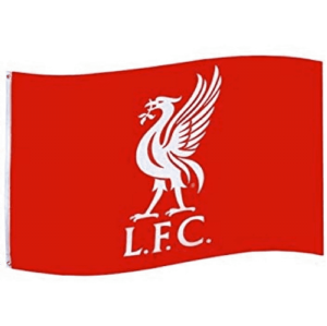 Liverpool L.F.C. Official Crest Football Flag 1520mm x 910mm (bst)